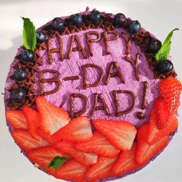 happy raw vegan cake