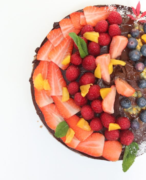 chocolate cake raw vegan