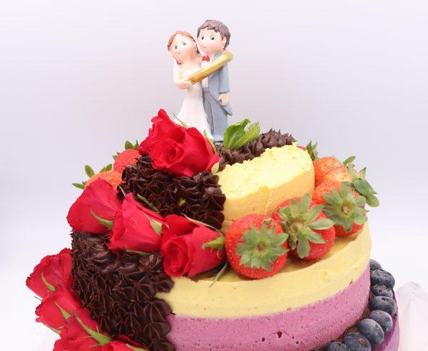 incredible wedding cake