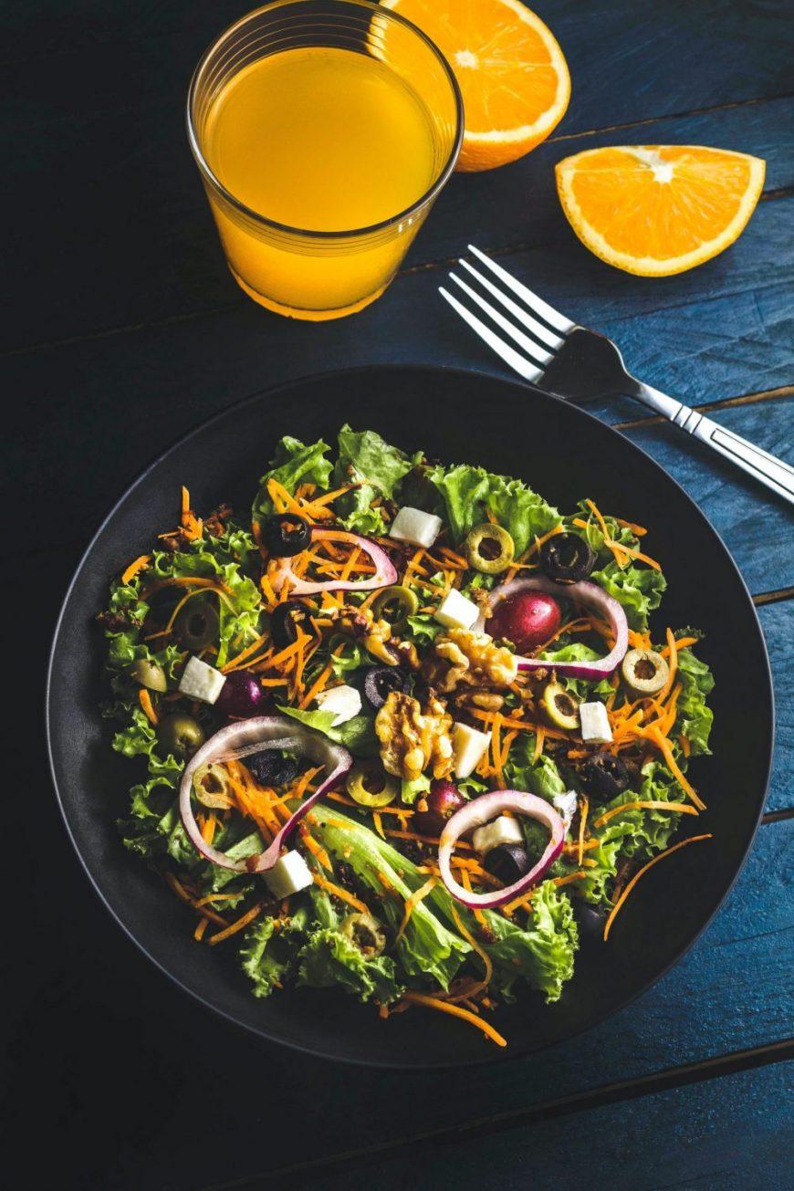 Egyptian egg salad